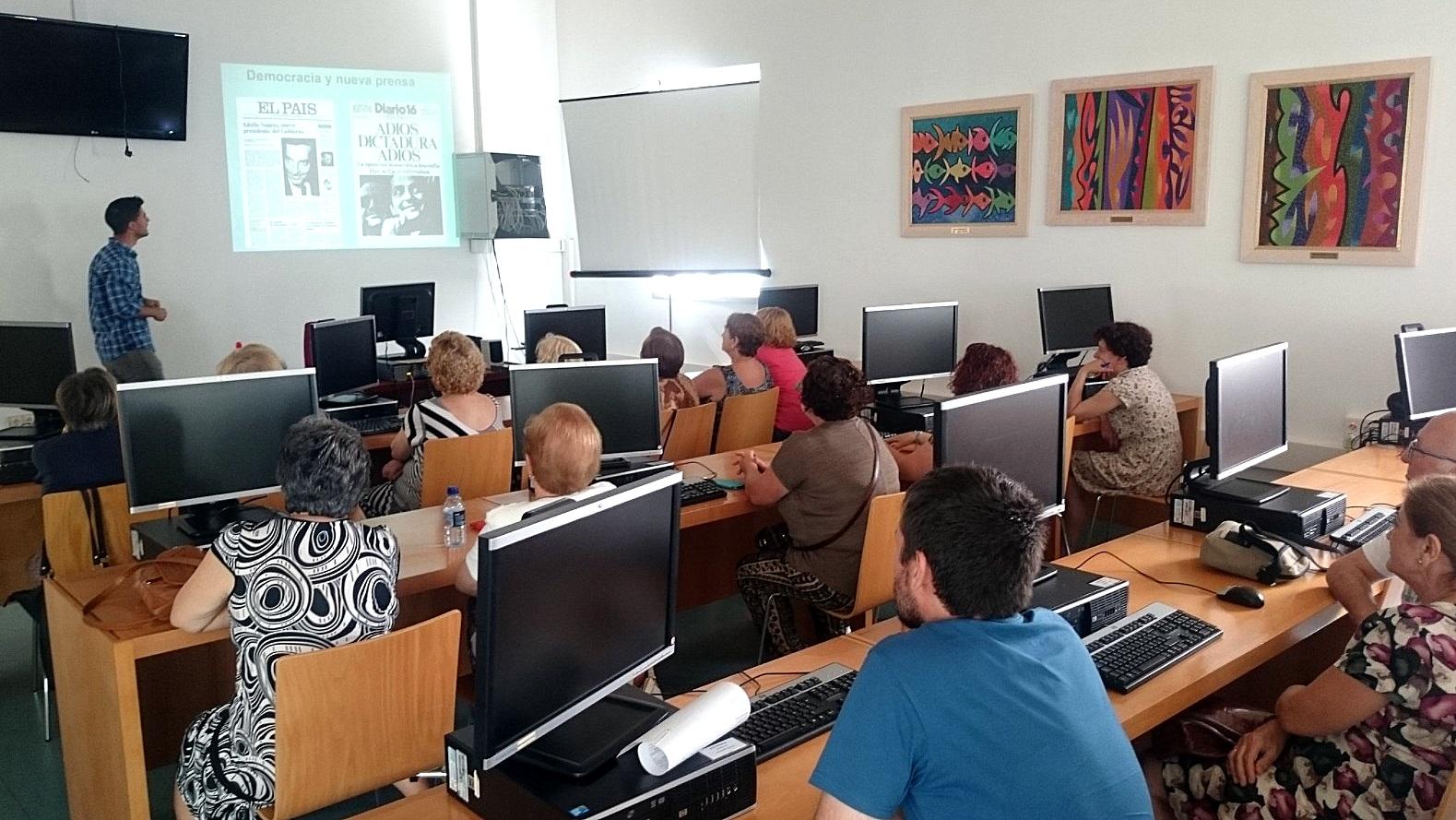 taller prensa en andaluz